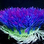 QHGstore Aquarium Decoration Artificial Water Plant Grass Plastic Purple Plant Fish Tank Landscape Ornament Decor 11