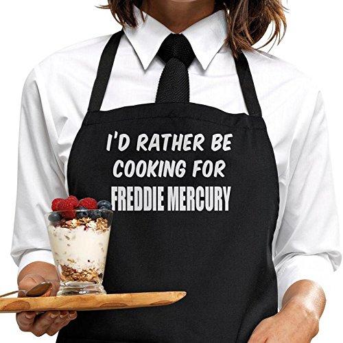 I 'd Rather BE cocina Freddie Mercury delantal, bertiesbrandtm
