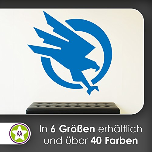 KIWISTAR Global Defense Initiative - GDI Wandtattoo in 6 Größen - Wandaufkleber Wall Sticker