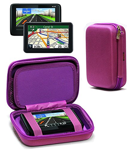 Navitech Purple Premium Travel Hard Carry Case Cover Sleeve For The Nintendo 3DS XL & 3DS - 3ds Xl-ladegeräte