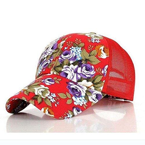 DIDADU 2017 Neue Blumendruck Baseballmützen Blumen Hip Hop Caps Snapback Großhandel Mode Frauen Freizeit Flache Knochen Atmungsaktives Mesh (Großhandel Kostüme Club)