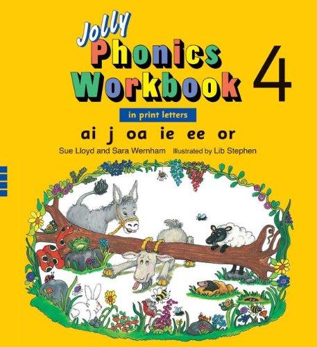 Jolly Phonics Workbook 4 (Jolly Phonics Workbooks)