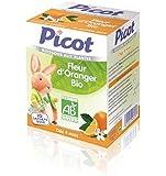 Picot Boissons Aux Plantes Bio Fleur D'oranger 10 Sachets