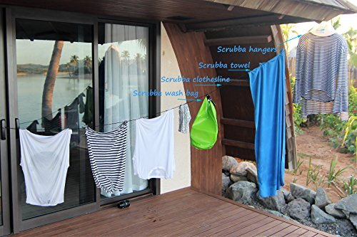 51atQdHeivL - Scrubba Washing Bag Kit 2.0 Portable Clothes Washer System for Hotel and Travel Washing Light and Small Eco-friendly…