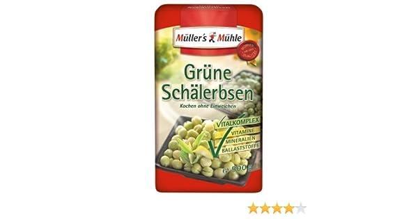Müllers Mühle Grüne Schälerbsen 7er Pack 7 X 500 G Packung