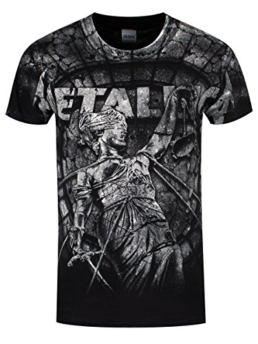 Metallica T-Shirt Stoned Justice da uomo in nero