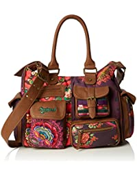 Desigual Damen London Medium Alika Umhängetaschen, 32x25.40x12 cm