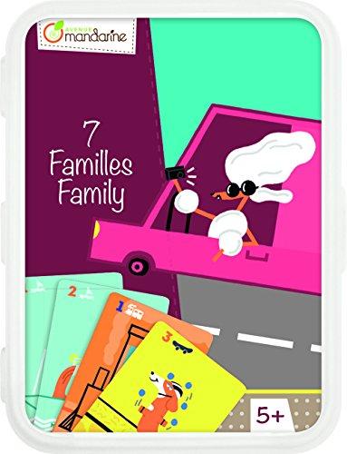 Avenue Mandarine CO101O Un jeu de cartes - Jeu des 7 familles