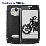 Blackview BV7000 PRO 4G Rugged Smartphone IP68 impermeabile/antiurto con GPS/GLONASS/NFC/OTG/Fingerprint, Android 6.0(5.0''FHD schermo,4GB RAM 64GB ROM,Camera 13MP,Batteria 3500mAh,Dual SIM) Argento