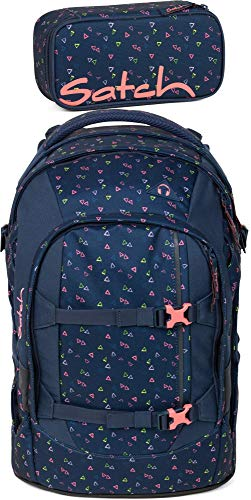 Satch Pack Funky Friday 2er Set Schulrucksack & Schlamperbox