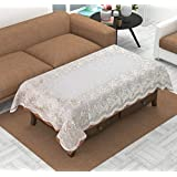 Style Your Home PVC Centre Table Cover For 4 Seater Size 40 X 60 Inches | Table Cover For Centre Table | Table Cloth For Dining Table 4 Seater | Table Cloth For Dining Table 4 Seater Waterproof | Table Cloth For Dining Table 4 Seater Waterproof Transparen