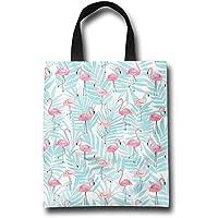 GJOHKRT Bolsas para Asas de la Compra, Diseño de Flamencos, Color Rosa