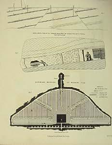 Copie antique architecturale C1860 de conception de charbon de charbonnage