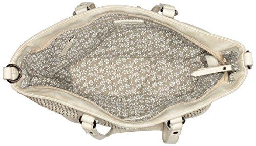 Gabor Damen Bari Schultertasche, 14.5x26x38.5 cm Beige (Beige)