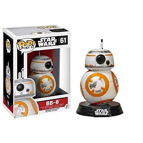 Funko 6218 Pop! Star Wars, BB-8, Figuras de Cabeza de Bobina, 9,5 cm