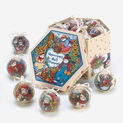 Country Schneemann Ornament Box Set (Legends Star Halloween)