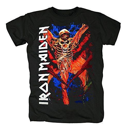 TSP Iron Maiden - Vampyr T-Shirt Herren S (Billig Frodo Beutlin Kostüm)