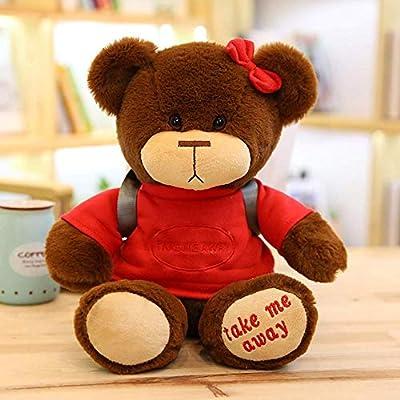 SDFGXCV Mochila De Juguete De Felpa La Nueva Muñeca De Cub Doll Da Un Regalo De Cumpleaños para Niños Y Niñas,30cm A por SDFGXCV
