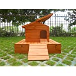 Easipet Duck House wooden floating platform 263 13