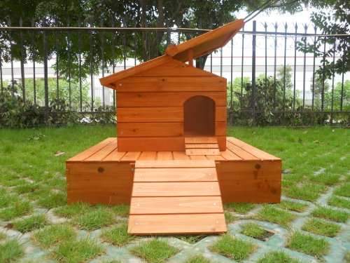 Easipet Duck House wooden floating platform 263 6