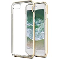 iPhone 8 Case / iPhone 7 Case VRS Design® Dual Layer Clear Case [Gold] Shockproof Protective Cover Heavy Duty Bumper Case [New Crystal Bumper] for Apple iPhone 8 / Apple iPhone 7