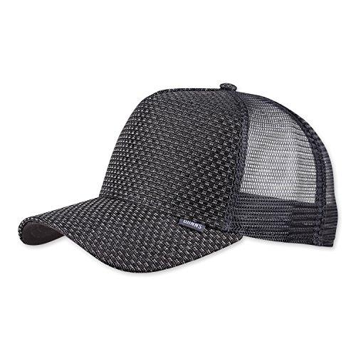 DJINNS - Woven Bast (grey) - Trucker Cap Meshcap Hat Kappe Mütze Caps