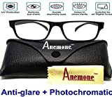 Best Computer Glasses - Anemone Premium Anti-glare Photochromatic Zero power sunglasses Review