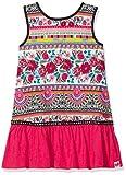 Desigual Vest_Monrovia, Vestido para Niñas, Rojo (Carmin 3000), 104 (Talla del Fabricante: 3/4)