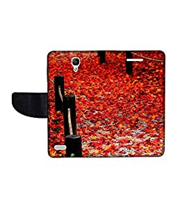 KolorEdge Printed Flip Cover For Xiaomi Redmi Note Prime Multicolor - (1479-55KeMLogo10798RedmiNotePrime)