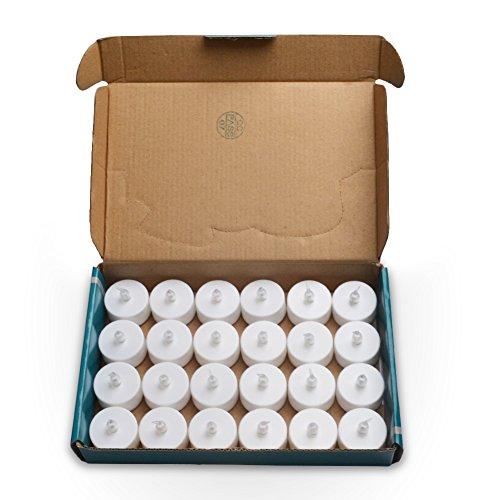 LED Teelichter inkl. Batterie | 24 Stück - 6