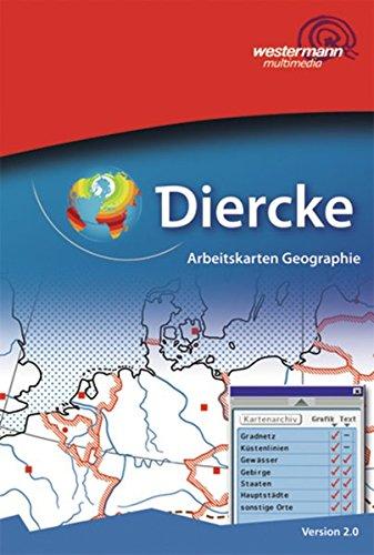Diercke-Arbeitskarten Geographie: Diercke Weltatlas - Ausgabe 2008: Arbeitskarten Geographie: Einzellizenz