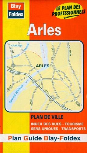 Plan de ville : Arles (avec un index)