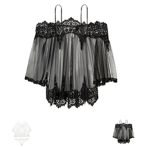 Masterein Frauenreizend WäscheKleid, das weg von der ...