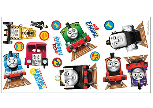 Fun4walls Thomas And Friends Wall Stickers CGI Fully Repositionable