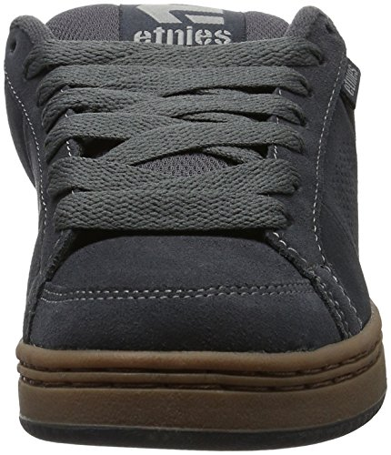 Etnies Kingpin, Sneakers basses homme Grau (023 , DARK GREY/BLACK/GUM)