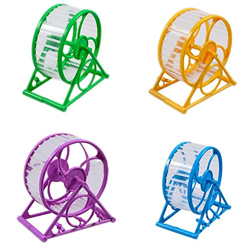 LA VIE Roue d'Exercice Roue du Sport Jouets en Plastique Pour Hamster Petit Souris Coloris Aléatoire