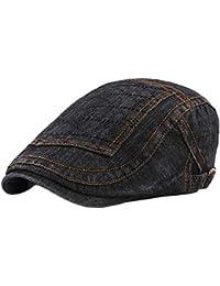 a9bcac5dd000e Boinas Unisex Estilo de Moda Casquette Beret Hat Gorra Puntiaguda Newsboy  Painter Cap Ajustable