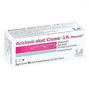 Aciclovir akut 1A-Pharma Creme, 2 g