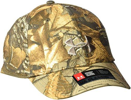 Under Armour Damen Camo Snapback Cap, Damen, Realtree Ap-Xtra (946)/Metallic Beige, Einheitsgröße