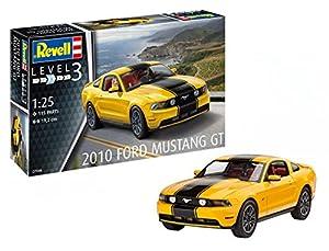 Revell Revell-2010 Maqueta 2010 Ford Mustang GT, Kit Modelo, Escala 1:25 (7046)(07046), 19,2 cm de Largo