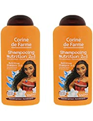CORINE de FARME Shampooing Vaiana Ultra Démêlant Cheveux Secs/Frisés 250 ml -