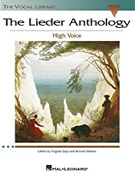 The Lieder Anthology High Voce Ed. V Saya and R. Walters, The Vocal Library by Richard Walters (2003-10-01)