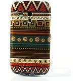 Jujeo Tribal Étui pour Samsung Galaxy S3 Mini i8190 Motif géométrique
