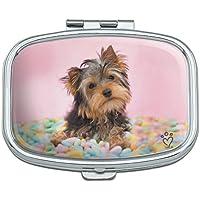 Yorkie Yorkshire Terrier Hund Candy Eier Ostern Rechteck Pille Fall Schmuckkästchen Geschenk-Box preisvergleich bei billige-tabletten.eu