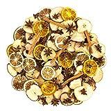 INNA Glas Trockenfrüchte-Potpourri, bunt, 250 Gramm - Trockenobst/Früchtemix - monsterkatz