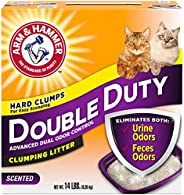 Double duty clumping cat litter 6.35 kg