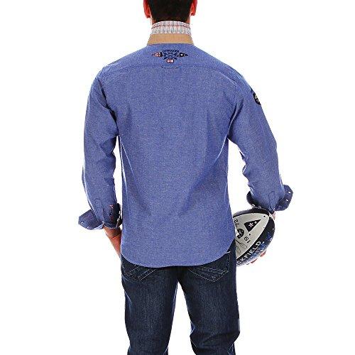 Ruckfield - Chemise chambray outdoor - Bleu Bleu