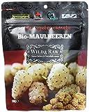 Wild & Raw Sonnengetrocknete Maulbeeren vegan, 6er Pack (6 x 100 g)