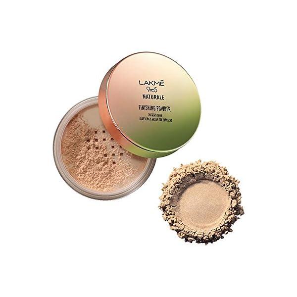 Lakme 9 to 5 Naturale Finishing Powder, Universal Shade, 8g