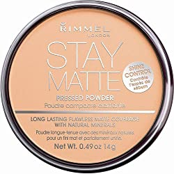 Rimmel Stay Matte Pressed Powder, Nude Beige, 0.49 oz